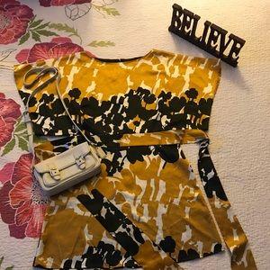 BCBG Maxazria tie waste blouse 🌼